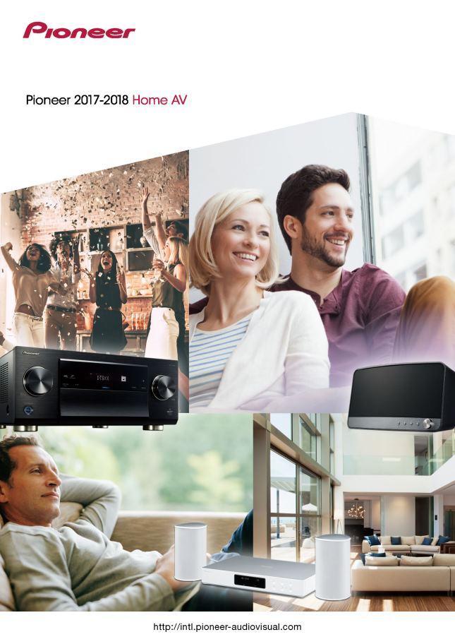 Pioneer 2017-2018 Home AV catalog