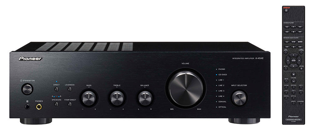 A-40AE | 2ch Components | Products | Pioneer Home Audio Visual