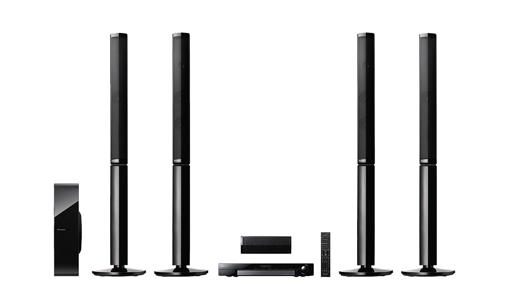 pioneer 5 1 home theater system htp 074. mcs-838blu-ray disc surround system pioneer 5 1 home theater htp 074