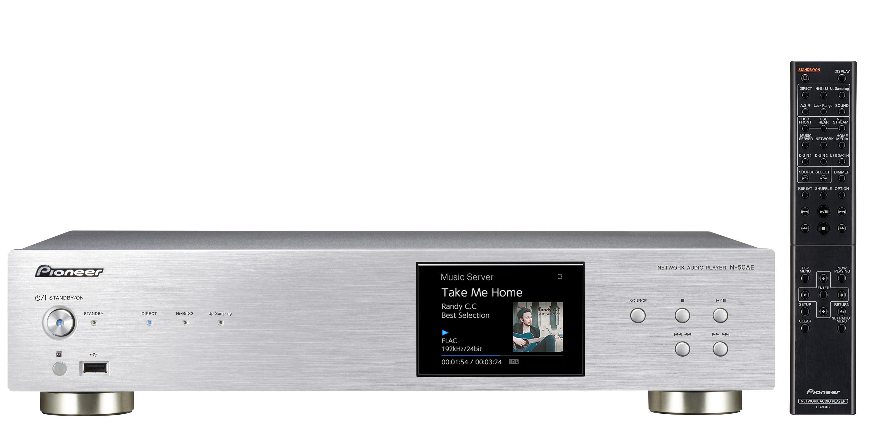 N-50AE | 2ch Components | Products | Pioneer Home Audio Visual