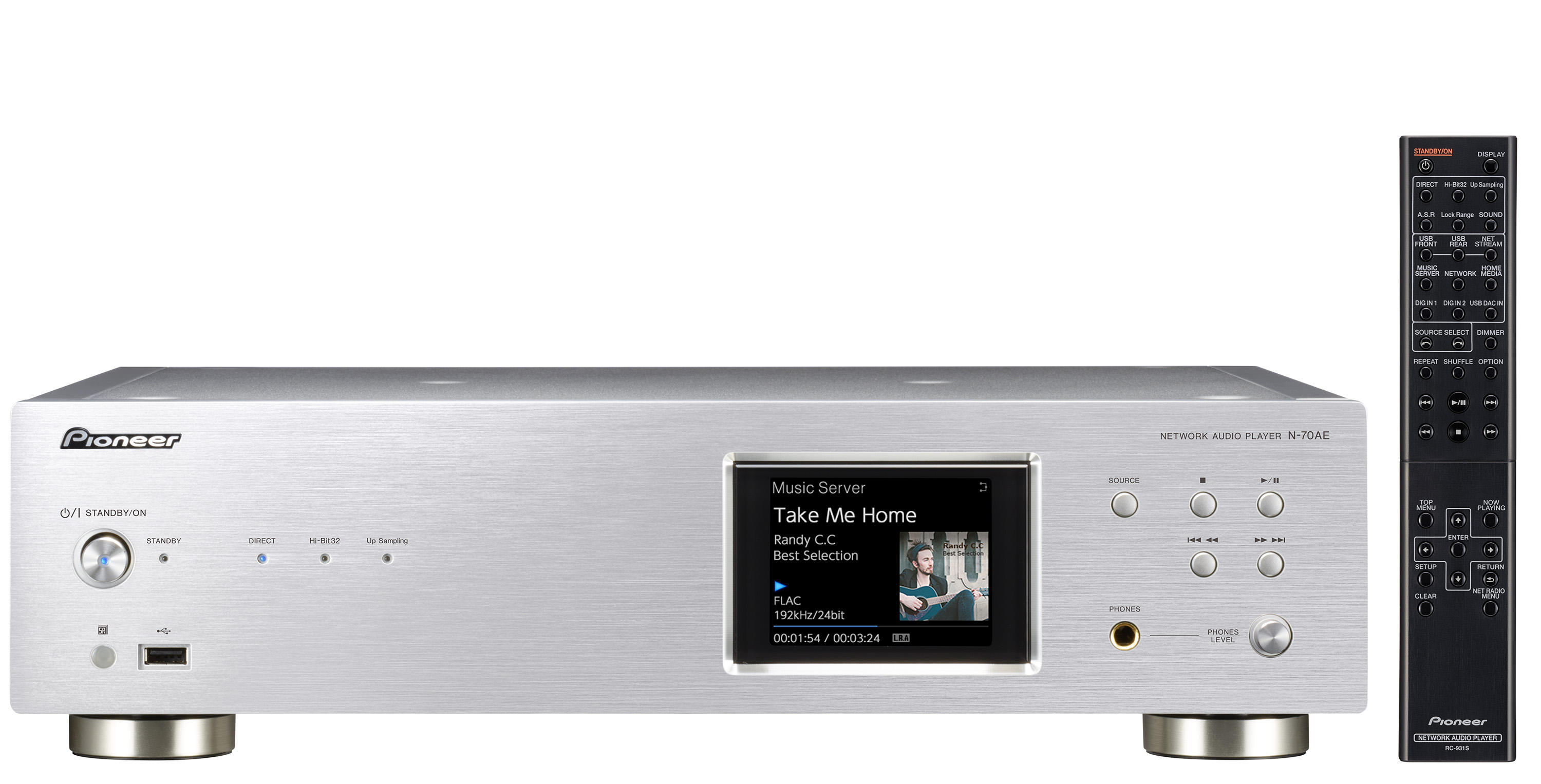 N-70AE | 2ch Components | Products | Pioneer Home Audio Visual