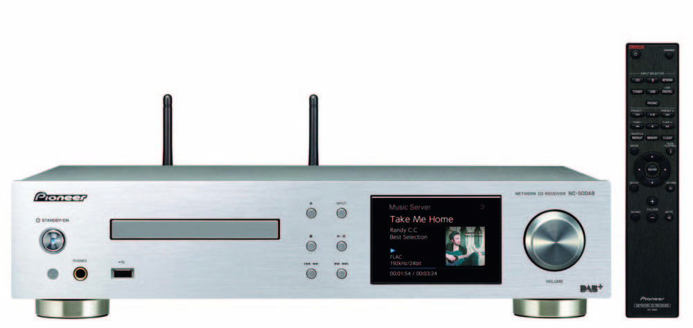 NC-50DAB | 2ch Components | Products | Pioneer Home Audio Visual