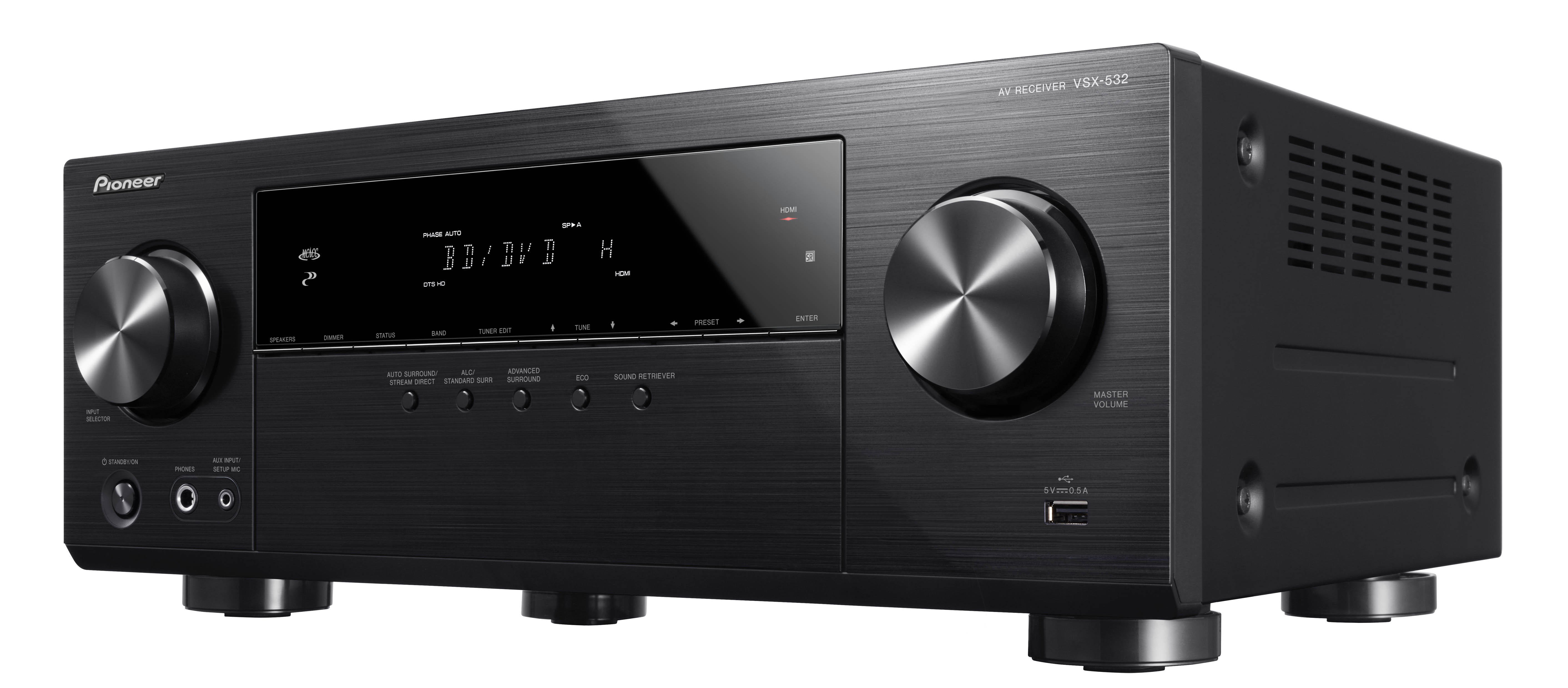 Vsx 532 Av Receivers Products Pioneer Home Audio Visual