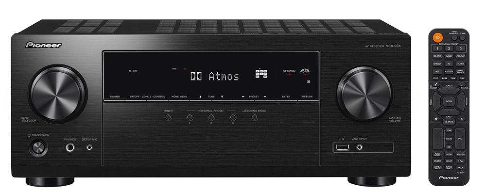 VSX-934 | AV Receivers | Products | Pioneer Home Audio Visual