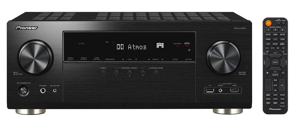 VSX-LX304 | AV Receivers | Products | Pioneer Home Audio Visual