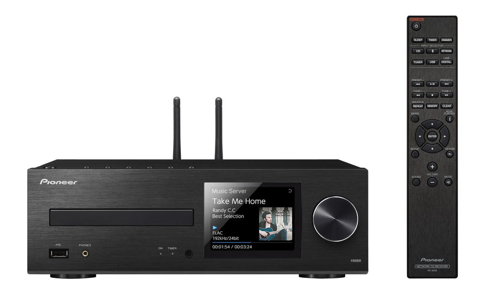 XC-HM86 | System Components | Products | Pioneer Home Audio Visual